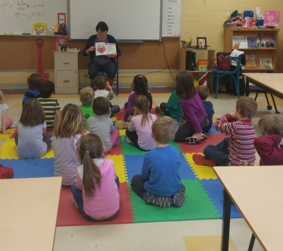 Terry Fox Reading - 1st class