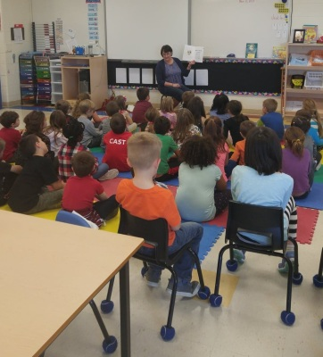 Terry Fox Reading - 2nd class