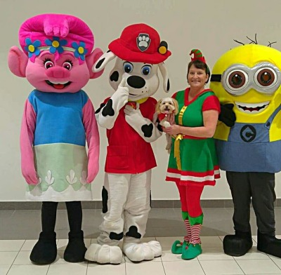 Poppy, Paw Patrol & Minion - Place Bathurst Mall